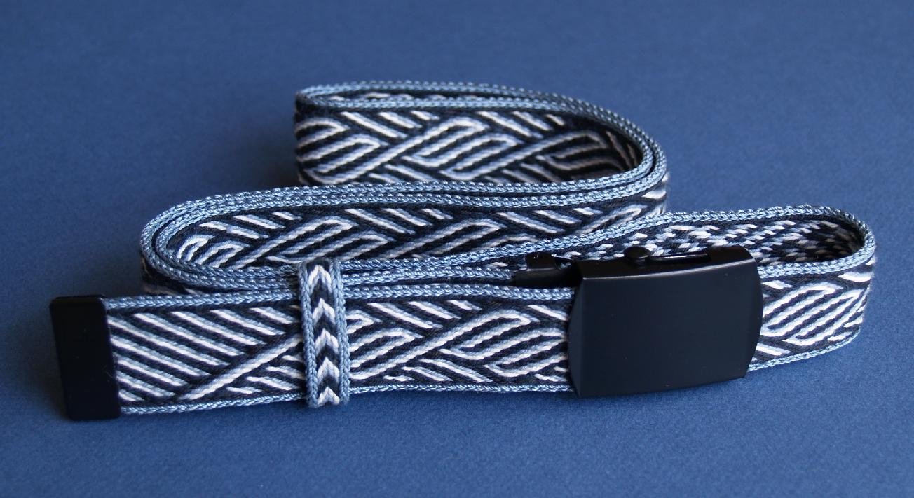 Gudrun\'s cardwoven belt